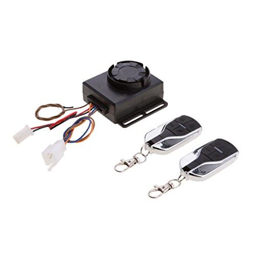 Dolity Universal Motorcycle Electric Keyless Locking Alarm Remote Central Kit