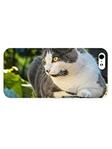 3d Full Wrap Case For Htc One M9 Cover Animal Cat With Yellow Eyes36