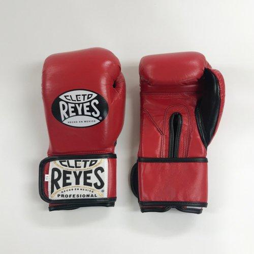 【Reyes/レイジェス】 ボクシンググローブ8オンス マジックテープ式 レッド