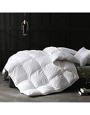 APSMILE Luxurious Ultra-Soft Egyptian Cotton European Goose Down Comforter