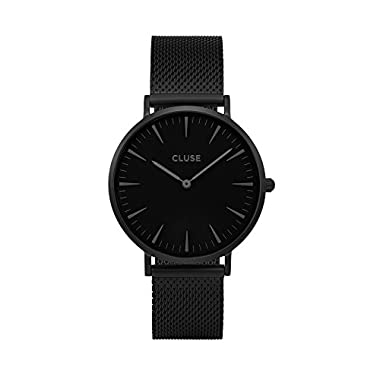 Cluse La Bohème Mesh Black/Black Womens Watch CL18111