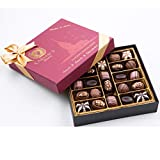 Bistro Chocolate Box Luxury Selection, Premium Assorted Gift for Holiday and Christmas, Gourmet Truffles,Natural and Healthy