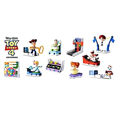 McDonald's 2020 Toy Story 4 Happy Meal Set: Toys & Games