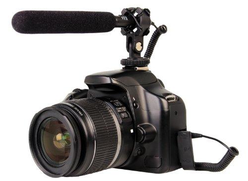 Bower MIC300 Mini Shotgun Condenser Microphone (Black) by Bower
