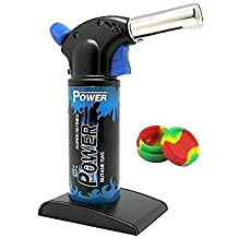 5x Power Performance Butane Torch + Middlebrook Silicone Container