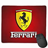 TianXin Design Ferrari-Logo-Wallpaper Cool Mouse Pads for Unisex One Size