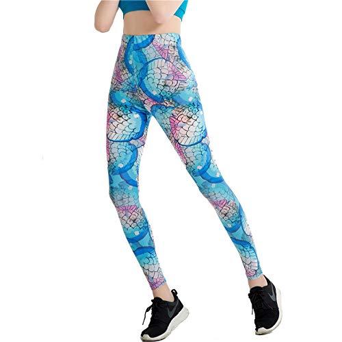 MAOYYMYJK Schmale Bleistifthose Stretch Damen Yoga Leggings Yoga-Hose für Damen