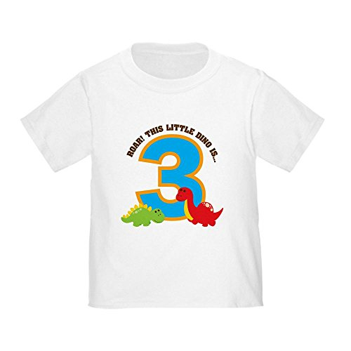 CafePress Dinosaur Birthday Toddler T Shirt