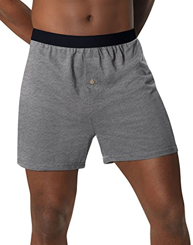 Hanes Men's 5-Pack Red Label FreshIQ Comfortsoft Boxer with ComfortFlex Waistbands