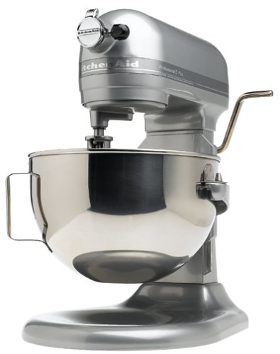 KitchenAid Professional 5 Plus Series Stand Mixers -  Metallic Chrome (Best Flip Phone On The Market 2017)