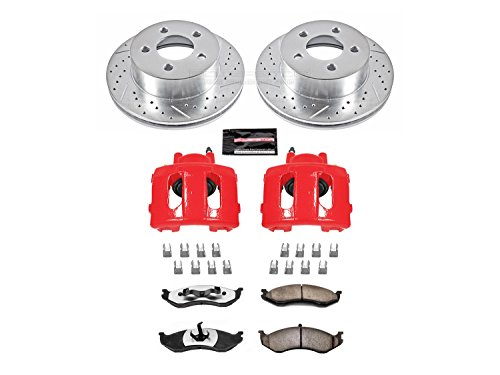 - Power Stop KC2152-36 Front Z36 Truck and Tow Brake Kit with Calipers