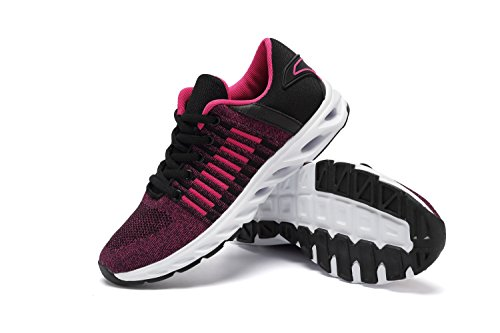 Sneakers SUO Athletic Men Running Shoe Z Unisex Casual Fashion Breathable Couple Red Women Sports Rose d05xqzw