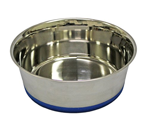 Fuzzy Puppy Pet Products HDM-2Q Heavy Dish with Rubber Base, 2 quart