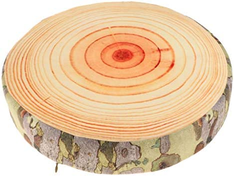 Cuscino Ceppo Modello Forma Tronco in Legno Cuscinetto Abbellimenti Supporto Collo A