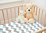 COSMOPLUS Stretch Fitted Pack n Play Playard Sheets