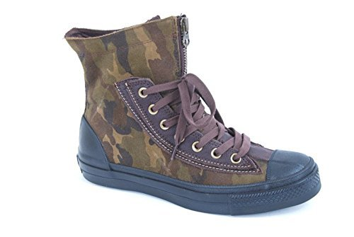 Converse Unisex Chuck Taylor Combat Boots Camouflage Burn...