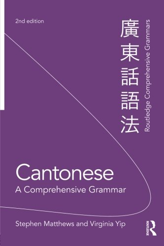 Cantonese: a comprehensive grammar (Routledge Comprehensive Grammars) (Comprehensive Grammar Workbook)