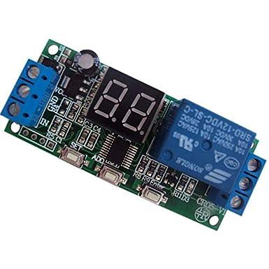 Details about  /AC 220V LED Automation Digital Delay Timer Steuerung Relais Schaltmodul E6C8