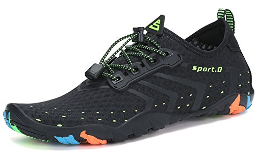 PENGCHENG Water Sports Shoes Men Women Beach Swim Shoes Barefoot Skin Quick-Dry Aqua Socks for Swim Walking Yoga Lake Beach Surf Park Driving Boating by PENGCHENG (Image #1)