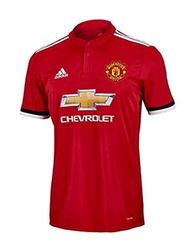 adidas Men's Soccer Manchester United F.C. Home Jersey (Jersey Football Contrast Side)