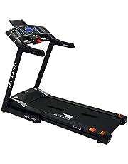 جهاز تمارين الركض سكاي لاند للكبار من الجنسين للاستخدام المنزلي، 16 سرعة EM-1265 - لون اسود
