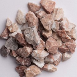 Peachy Pink Marble Chips - Size 1: 1/8-1/4 inch (3-6 mm) - Bag of 5 lbs (2.26 kg) ()