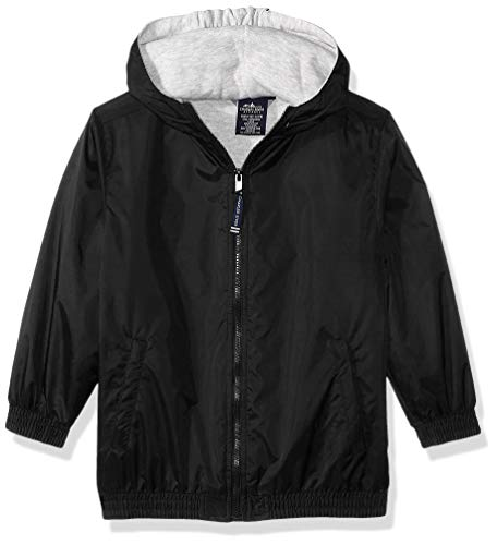 - Charles River Apparel Kids' Big Performer Heavyweight Full-Zip Jacket, Black, S