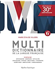 Multidictionnaire langue française: Édition du 30e anniversaire