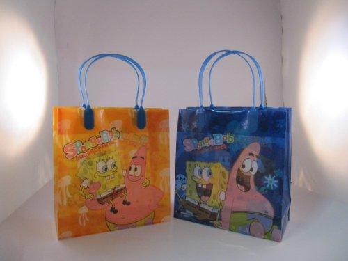 Spongebob Squarepants Party Favor Gift Bags 12 Pack Large