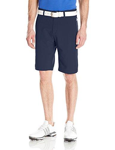 adidas Golf Ultimate+ 3-Stripes Short, Navy, 32