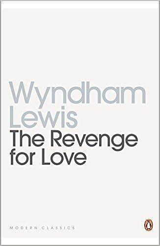 Book Modern Classics Revenge for Love (Penguin Modern Classics) by Wyndham Lewis (2004-03-30)