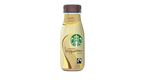 Starbucks - Frappuccino Vanilla - Bebida con Café - 250 ml - [Pack de 4]: Amazon.es: Alimentación y bebidas