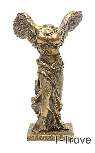 Cold Cast Bronze Olympic Nike of Samothrace Statue Figurine (Samothrace Statue)