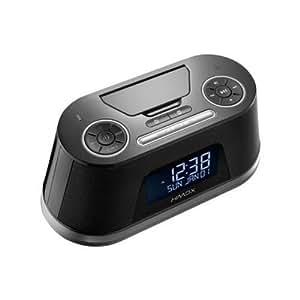 HMDX HX-B710BK Freedom Bluetooth Alarm Clock with Apple Lightning Pin