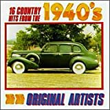 16 Country Hits From the 40's