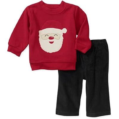 Baby Boy Christmas 2 Piece Santa Set By Carter's
