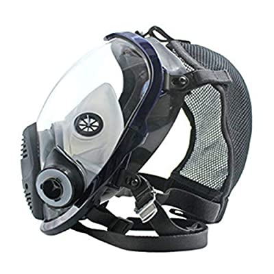 Baynne Full Face Respirator Gas Mask Breather Anti-dust Anti Organic Gas Safety Mask for Industry Painting Spraying Gas Mask by Baynne