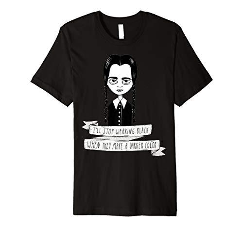 Wednesday Addams T Shirt