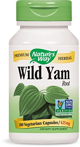 Nature's Way Wild Yam Root, 425 mg, Capsules 100ea