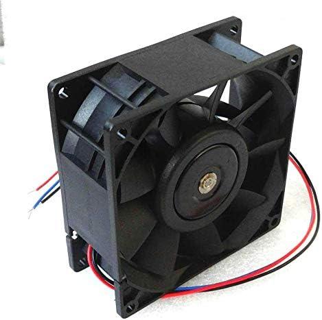 Cooler Fan for Delta 92mm x 38mm High Airflow Fan 48V DC 154 CFM 3 Wire 92x38mm PFB0948UHE