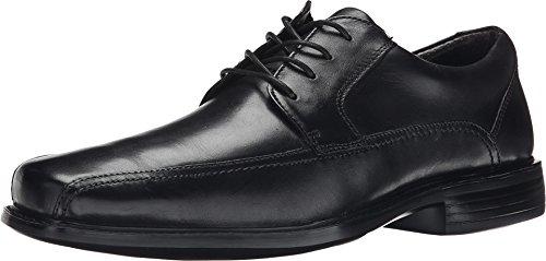 Dockers Men's Perry Black Polished Full Grain Oxford 8 D (M) - Black Polished Full Grain