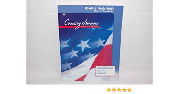 amazon com creating america reading study guide spanish rh amazon com creating america study guide creating america reading study guide pdf