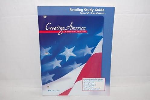 amazon com creating america reading study guide spanish rh amazon com creating america reading study guide answer key creating america study guide