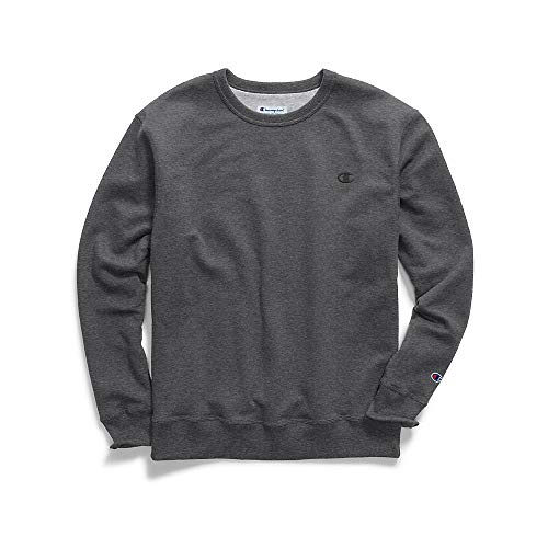 blend Pullover Sweatshirt, Granite Heather, Small ()