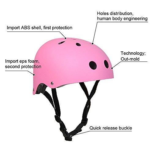 Pink Black Skateboard - 5