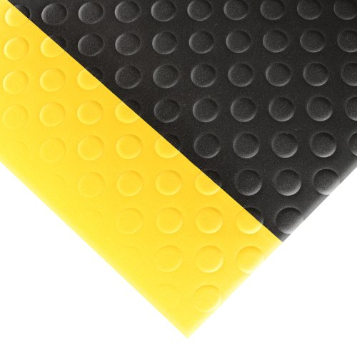 - NoTrax 417 Bubble Sof-Tred Safety/Anti-Fatigue Mat with Dyna-Shield PVC Sponge, for Dry Areas, 3' Width x 6' Length x 1/2