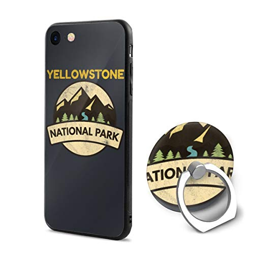 Yellowstone National Park PC iPhone 6/iPhone 6s Phone Case Protective 3D Slim Back Cover 4.7 Inch Ultra Thin & Light Soft Touch Feeling Flexible Anti-Scratch for iPhone 6/6s ()