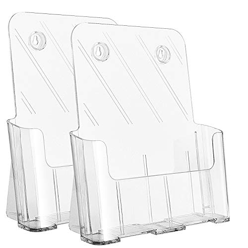 Ktrio Acrylic Brochure Holder 8.5 x 11
