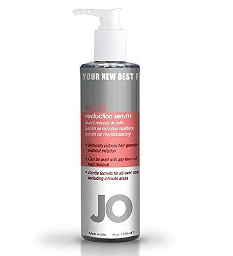 System Jo Hair Reduction Serum Reduces Unwanted Hair Growth Safe to Use with All Forms of Hair Removal : Size 4 fl oz.
