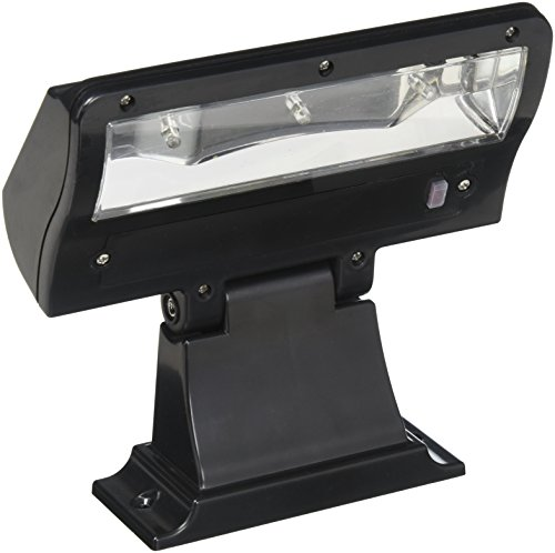 (Whitehall Products Standard Wall Illuminator Solar Address Lamp, Black)